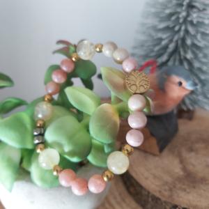 Collier en pierres naturelles pour apporter joie et dynamisme.