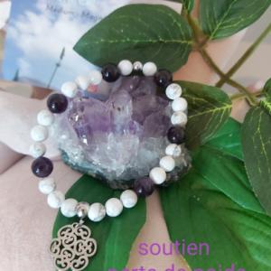 Bracelet en pierres naturelles.